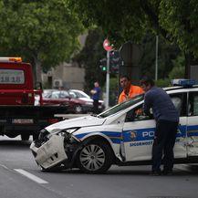 Prometna nesreća u Splitu (VIDEO: Ivo Cagalj/PIXSELL)