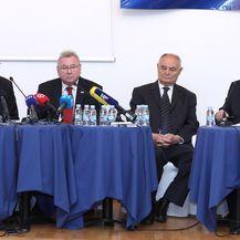 Konferencija za medije Počasnog bleiburškog voda (Foto: Pixsell, Patrik Macek)