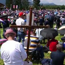 Na Bleiburgu bez biskupa na komemoraciji (Video: Dnevnik Nove TV)