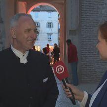 Sanja Jurišić i gradonačelnik Opara (Foto: Dnevnik.hr)