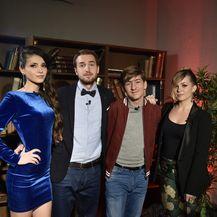 Helena Špiljarić, Karlo Maximillian Vuković, Adriana Jakovljević, Luka Deranja (Foto: Nova TV)