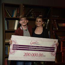 Helena Špiljarić i Karlo Maximillian Vuković (Foto: Nova TV)