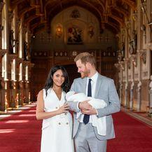 Meghan Markle i princ Harry pokazali su sina - 1
