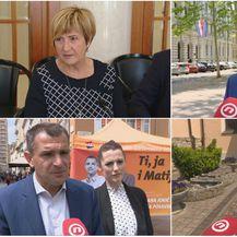 Ruža Tomašić, Mislav Kolakušić, Matija Posavec, i Marijana Petir (Foto: Dnevnik.hr)