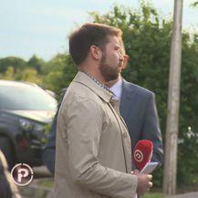 Kristian Došen i ministar poljoprivrede Tomislav Tolušić (Foto: Dnevnik.hr)