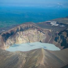 Jezero vulkana Maly Semyachik - 4
