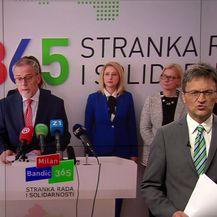 Milan Bandić protiv mirovinske reforme (Vijesi u 17 h Nova TV)