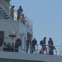 Brod Aurelia stigao u Split (Video: Dnevnik Nova TV)