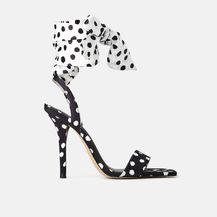 Sandale s visokom potpeticom na vezanje iz trgovina 2019. - 4