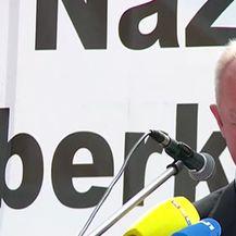 Prosvjed antifašista na Bleiburgu (Video: Dnevnik.hr)