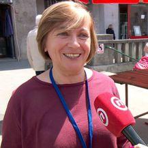 Volonterka na štandu dobrote Katica Paulić (Foto: Dnevnik.hr)