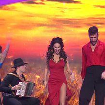 Ples sa zvijezdama: Nastupaju Viktorija Đonlić Rađa i Marko Mrkić (Video: Ples sa zvijezdama)
