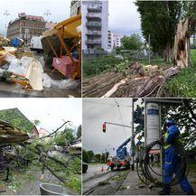 Olujno nevrijeme u Zagrebu (Foto: Pixsell,Patrik Macek,Sandra Simunovic)