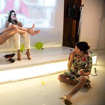 Predstava Praznine, Ana Vučak (Foto: Mara Bratoš i Luka Dubroja)