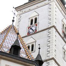 Olujno nevrijeme oštetilo i sat na tornju crkve svetog Marka (Foto: Patrik Macek/PIXSELL) - 3