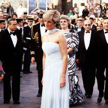 1987. Princeza Diana u kreaciji Catherine Walker