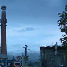 U Zagrebu i dalje puše jak vjetar (Video: Večernje vijesti Nove TV)