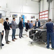 Delegacija iz Hyundaija u Rimac Automobilima