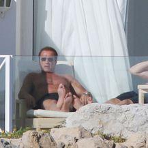 Eden Roc Hotel, Arnold Schwarzenegger (Foto: Profimedia)