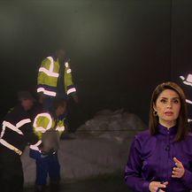 Zbog nabujalih rijeka Korane i Mrežnice, Karlovčani ni ovu noć neće spavati (Video: Večernje vijesti Nove TV)