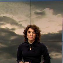 Prognoza vremena Damjane Ćurkov(Video: Dnevnik Nove TV)
