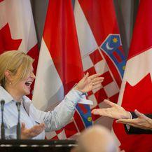 Kolinda Grabar-Kitarović susrela se s Justinom Trudeauom