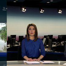 Ivana Pezo Moskaljov javlja kakva je situaciju u Jasenovcu radi straha od poplava (Video: Dnevnik Nove TV)