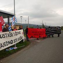 Dio prosvjednika na Bleiburgu (Foto: Dnevnik.hr)