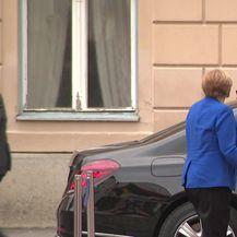Angela Merkel na Markovu trgu (Video: Dnevnik.hr)