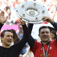 Niko i Robert Kovač (Foto: AFP)