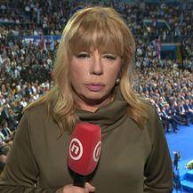 Ivana Petrović prati skup HDZ-a (Foto: Dnevnik.hr) - 4