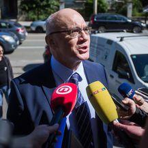 Osijek: Sjednica Optužnog vijeća o potvrđivanja druge optužnice protiv Mamića (Davor Javorovic/PIXSEL) L