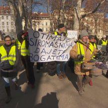 Prosvjed zbog slučaja Franak (Foto: Dnevnik.hr)
