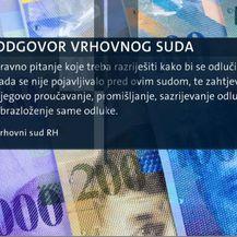 Odgovor Vrhovnog suda (Foto: Dnevnik.hr)