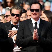 Brad Pitt, Leonardo DiCaprio, Quentin Tarantino (Foto: AFP)