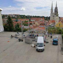 Postavljanje izbornog studija Nove TV (FOTO: Dnevnik.hr) - 3