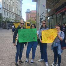 Prosvjed za klimu (Foto: Dnevnik.hr)