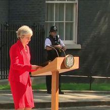 Britanska premijerka Theresa May najavila ostavku (Video: Dnevnik Nove TV)