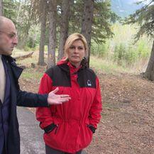 Mislav Bago razgovara s Predsjednicom Kolindom Grabar Kitarović (Foto: Dnevnik.hr) - 1