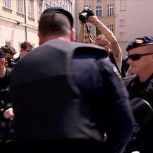 Crveni otpor protiv zabrane pobačaja (Video: Dnevnik Nove TV)