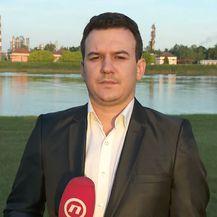 Dalibor Špadina razgovara s Daliborom Vašarevićem iz Građanske inicijative za čuisti zrak (Foto: Dnevnik.hr)
