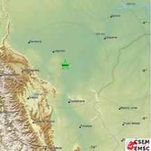 Potres u Peruu (Foto: Screenshot/emsc-csem)