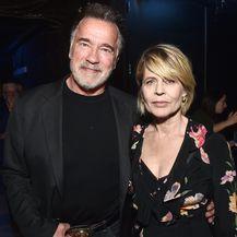 Arnold Schwarzenegger i Linda Hamilton (Foto: Getty)