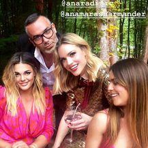Ana Maras Hamander, Sandra Perković i Davor Grgin (Foto: Instagram)