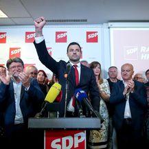 Davor Bernardić nakon objave rezultata (Foto: Igor Kralj/PIXSELL)