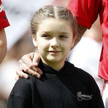 Harper Seven i Cruz s tatom Davidom Beckhamom na humanitarnoj utakmici - 1