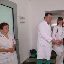 Milan Kujundžić u posjetu klinici za kirurgiju (Foto: Dnevnik.hr) - 2