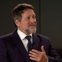 Profesor Tihomir Cipek gostuje u Dnevniku Nove TV (Foto: Dnevnik.hr) - 2