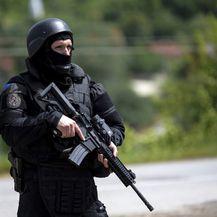 Akcija specijalne policije na Kosovu (Foto: AFP)2