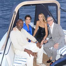 Kris Jenner, Corey Gamble, Tommy Hilfiger, Dee Ocleppo (Foto: Instagram)